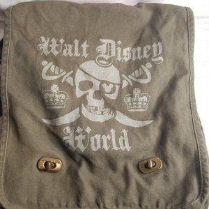Disney Parks Pirates Canvas Crossbody